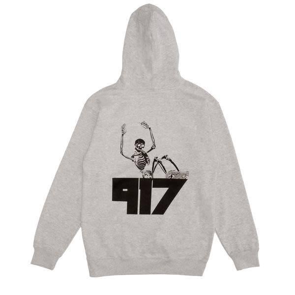 Nine One Seven Call Me 917 Jody Pullover Hoodie - Grey