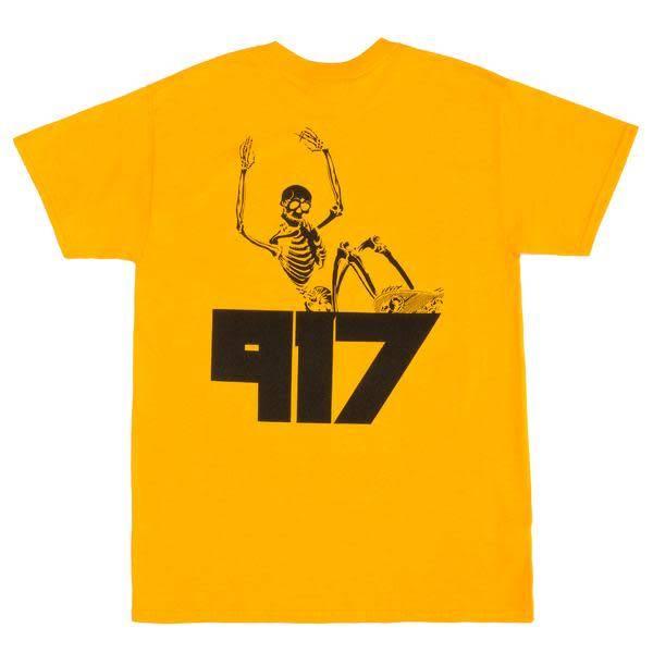 Nine One Seven Call Me 917 Jody T-Shirt - Gold