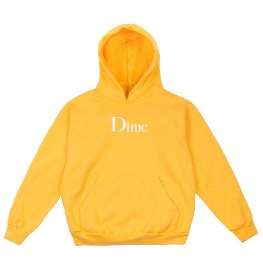 Dime Dime Classic Logo Hoodie - Gold