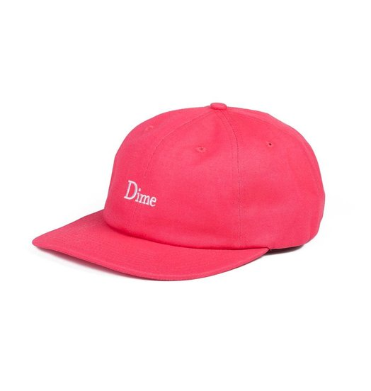 Dime Dime Classic 6 Panel - Coral
