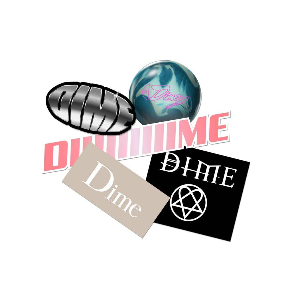 Dime Dime Sticker Pack F18