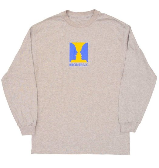 Bronze 56K Bronze 56K Thanks For Watching Longsleeve - Heather Grey