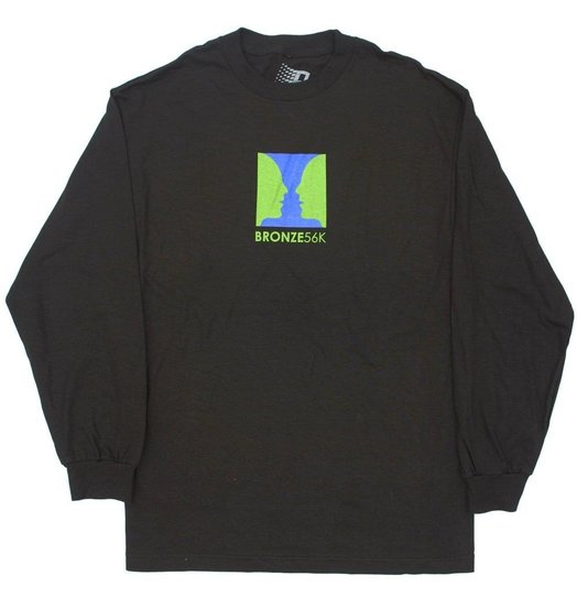 Bronze 56K Bronze 56K Thanks For Watching Longsleeve - Black