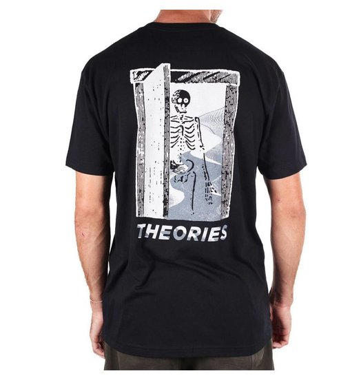 Theories Theories Skeleton Tee - Black