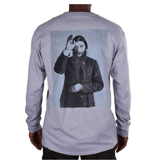 Theories Theories Rasputin Longsleeve - Heather Grey