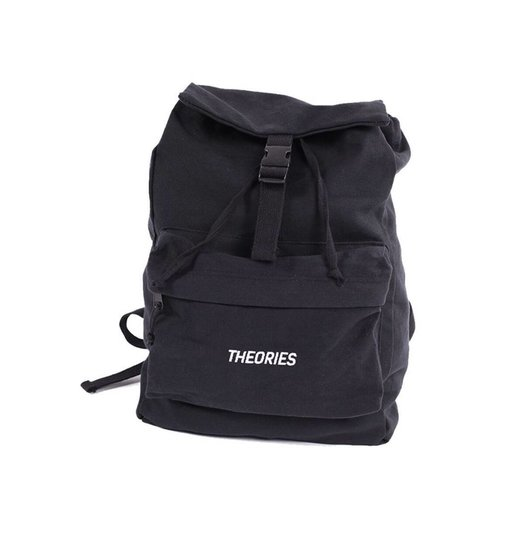 Theories Theories Stamp Camper Bag - Black