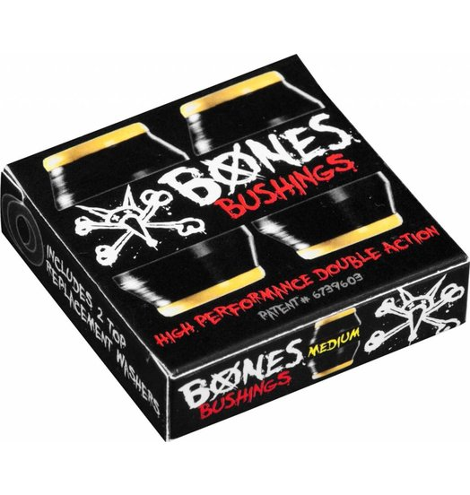 Bones Hardcore Bushings Medium - Black