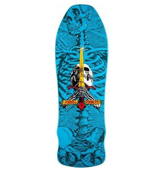 Powell-Peralta Powell Peralta - Geegah Skull & Sword 9.75 Blue
