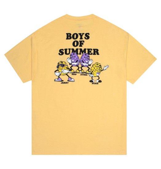 Boys Of Summer Boys Of Summer Grapes Tee - Daffodil