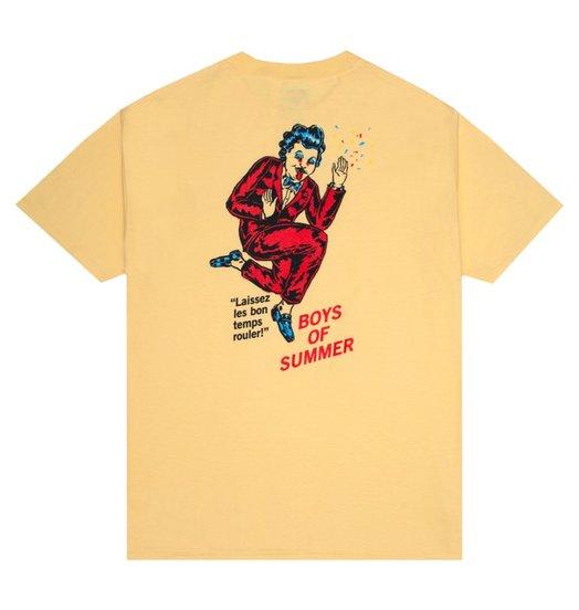 Boys Of Summer Boys Of Summer Mardi Gras Tee - Daffodil