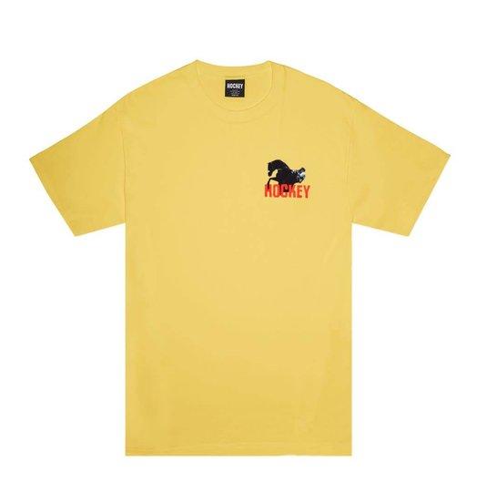 Hockey Hockey Rodeo Tee - Yellow