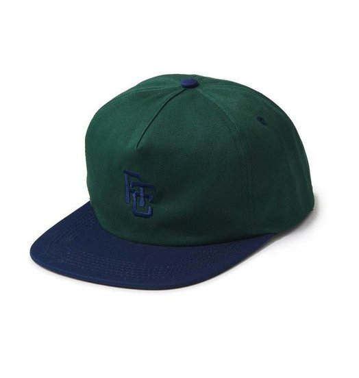 FTC FTC Field 6 Panel Hat - Forest Green/Navy