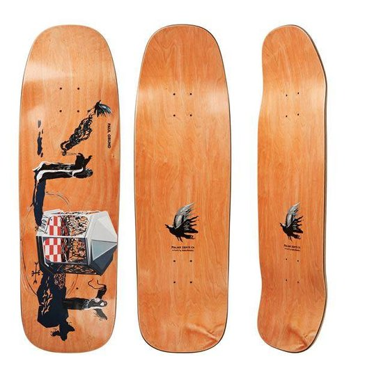 Polar Polar Paul Grund Rituals Deck - 1990 Shape 9.5