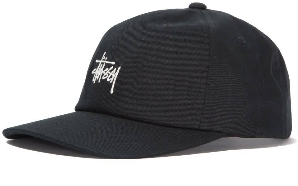 Stussy Stussy Stock Low Pro Cap - Black