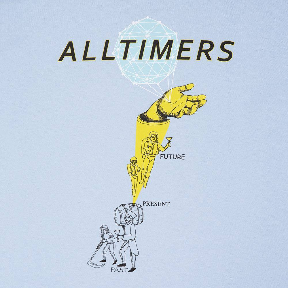 Alltimers Alltimers Time Zone Tee - Powder Blue