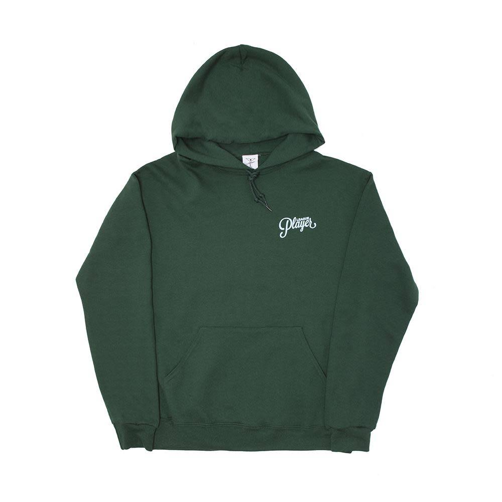 Alltimers Alltimers Puff Classic Logo Hoodie - Forest Green