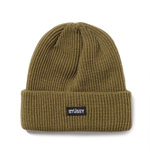 Stussy Stussy Small Patch Watchcap Beanie - Green Or Black