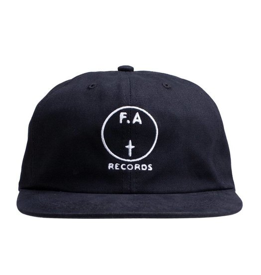 Fucking Awesome Fucking Awesome FA Records Hat - Black/White