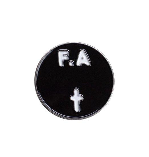 Fucking Awesome Fucking Awesome FA Records Pin