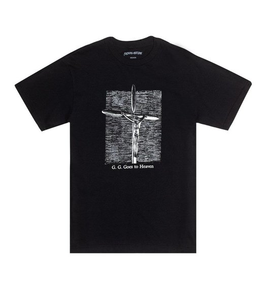 Fucking Awesome Fucking Awesome GG Goes To Heaven Tee - Black