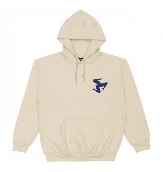 Nine One Seven Call Me 917 Surf Legs Hoodie - Creme