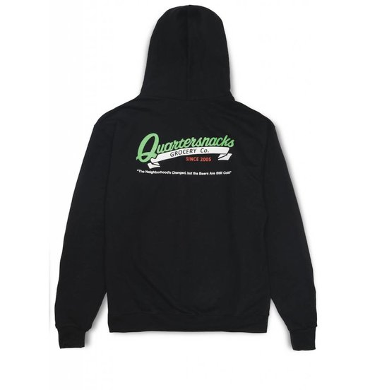 Quartersnacks Quartersnacks Grocery Champion Hoodie - Black