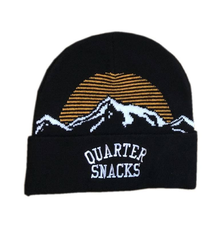 Quartersnacks Quartersnacks Mountain Beanie - Black