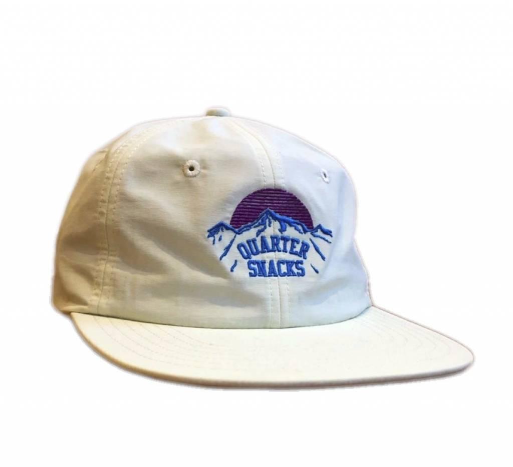 Quartersnacks Quartersnacks Mountain Cap - Off White