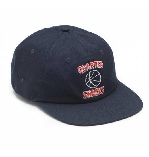 Quartersnacks Quartersnacks Ball Is Life Cap - Navy
