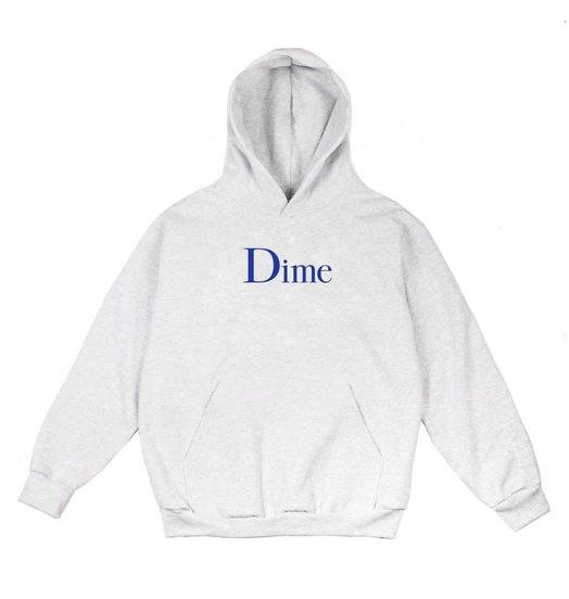 Dime Dime Classic Logo Hoodie - Ash