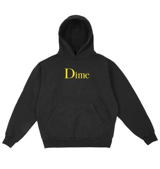 Dime Dime Classic Logo Hoodie - Black