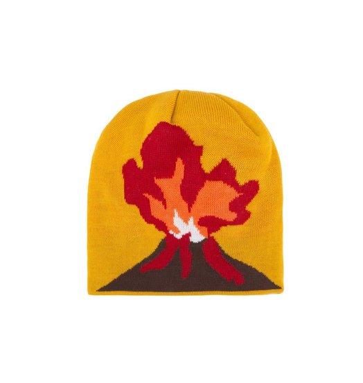Dime Dime Volcano Beanie - Yellow
