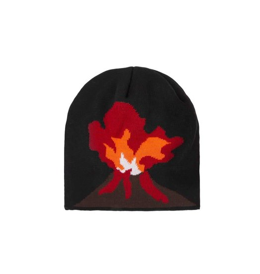 Dime Dime Volcano Beanie - Black