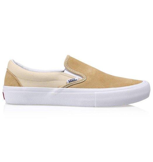 Vans Slip On Pro Sand White