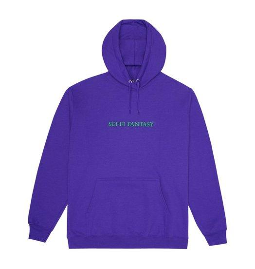 Sci-Fi Fantasy Sci-Fi Fantasy Logo Hood - Purple/Green