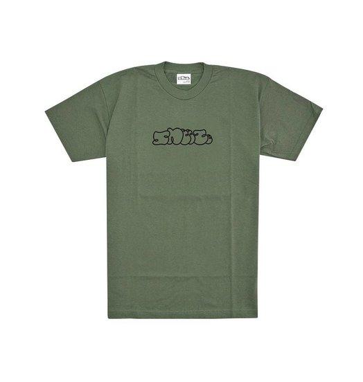 Sneeze Sneeze Logo Tee Army Green