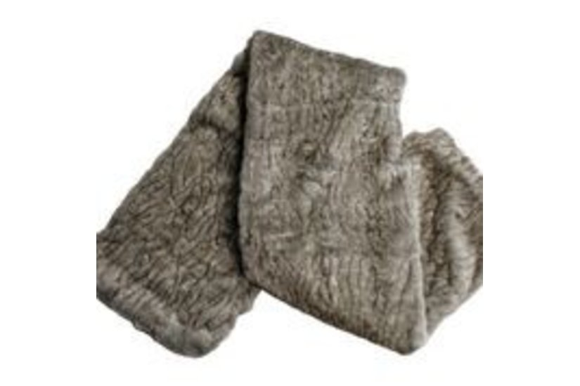 SIOUX FUR THROW - disc