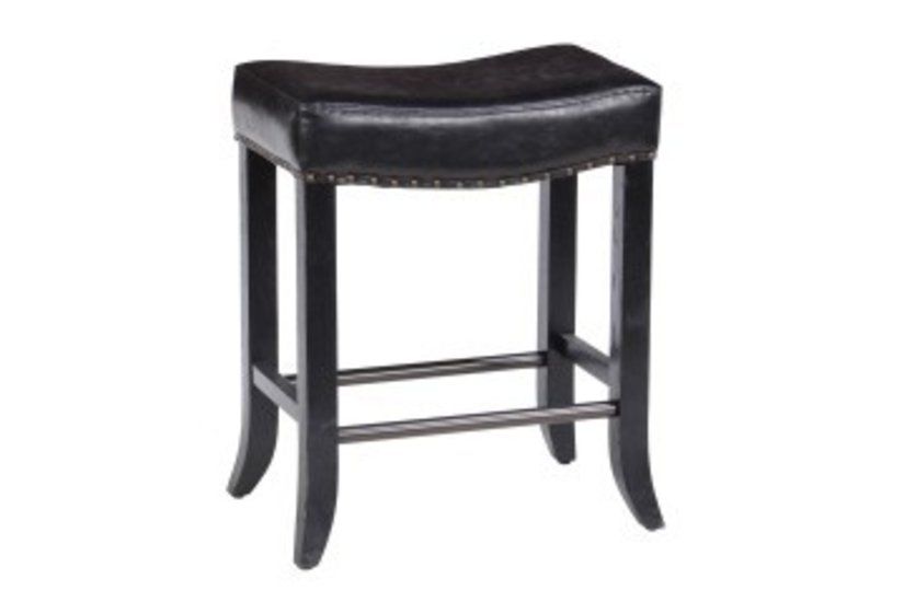 Camille Counter Stool - Black