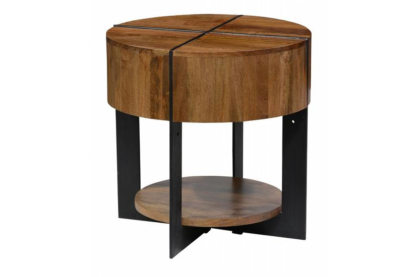Desmond Brown End Table