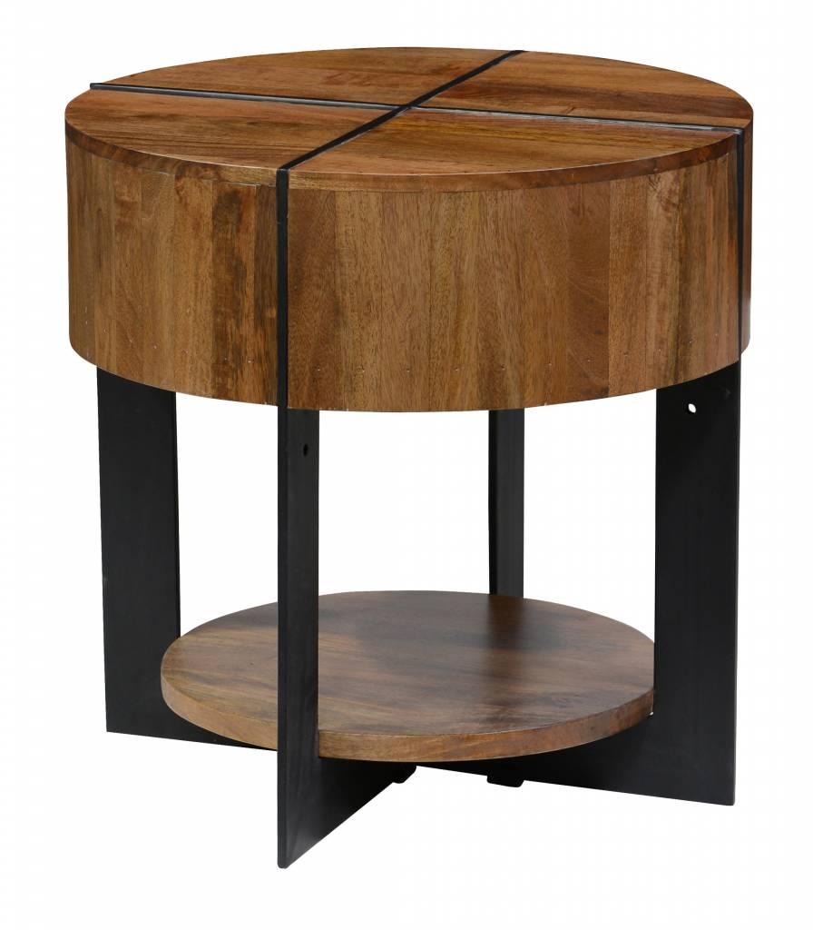 Desmond Brown End Table