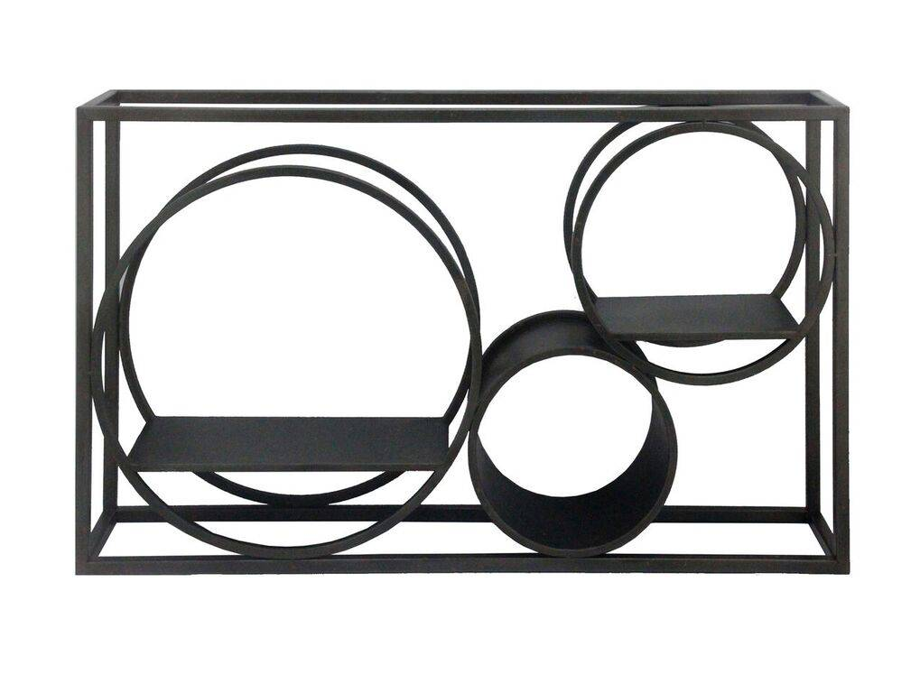 MATSON WALL SHELF - BLACK