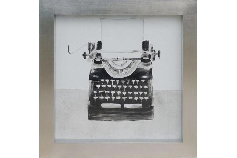 Typewriter Framed Art