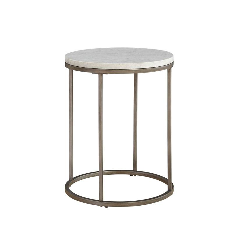 Julien Marble End Table - Round
