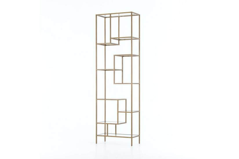 Helena Brass Shelf - 102""