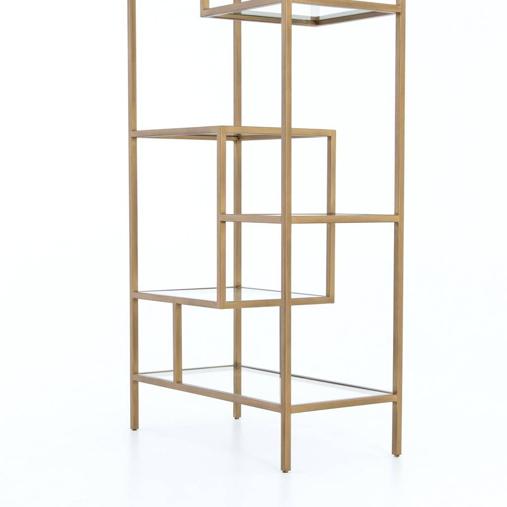 """Helena Brass Shelf - 102"""""""