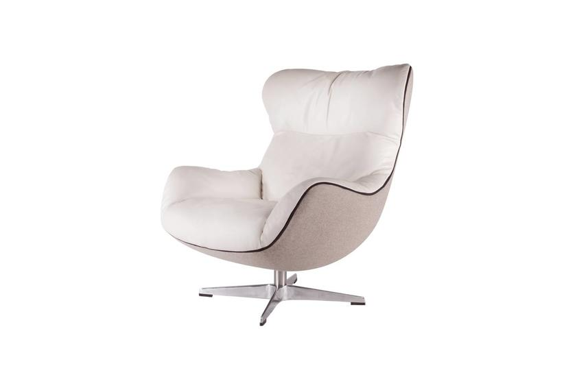 Arie Swivel - Bisque/Taupe