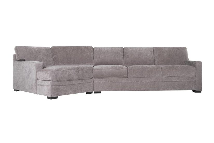 Johnson Cuddler Sofa - Metal