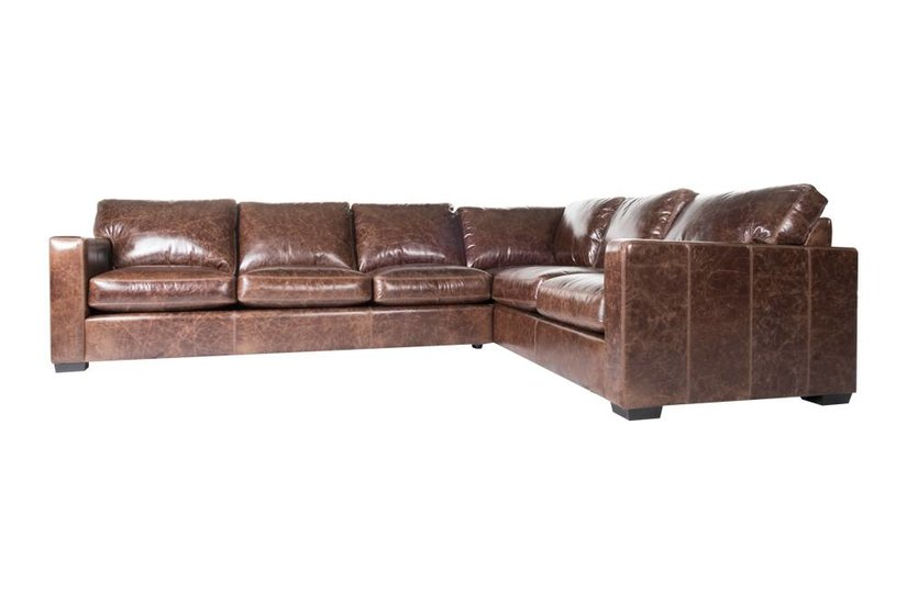 Cole L Sectional - Walnut