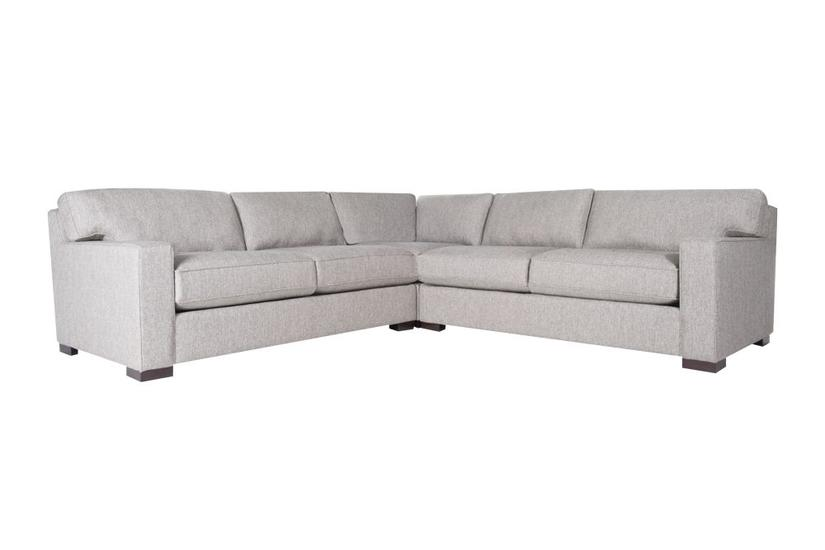 London Corner SECTIONAL - Granite