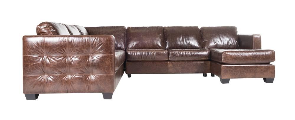 Barton XL RHF Chaise - Mahogany